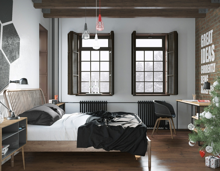 1001 ideen f r skandinavische schlafzimmer einrichtung. Black Bedroom Furniture Sets. Home Design Ideas