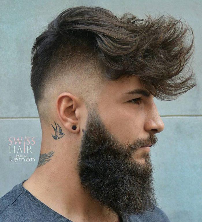 männer haarschnitt, trendige frisuren für männer, männerfrisuren für lange haare