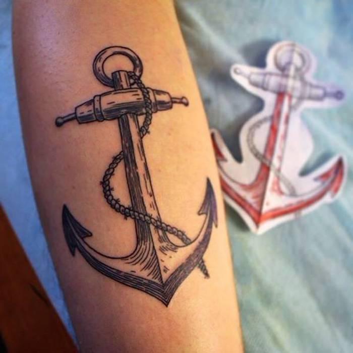 1001 Coole Anker Tattoo Ideen Und Infos über Ihre Symbolischen