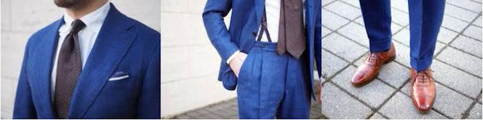 welche schuhe zum anzug elemente am style männerstyle ideen blauer anzug braune accessoires