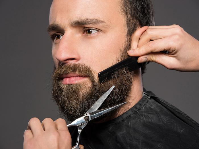 männer mit bart den bart rasieren ist eine sache, die die männer mit bärten ungern tun dunkle farbe bart bart farbe