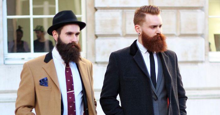 barttypen und -farben rot oder braun schwarz oder blond bart farben oder bart färben ideen für den modernen mann