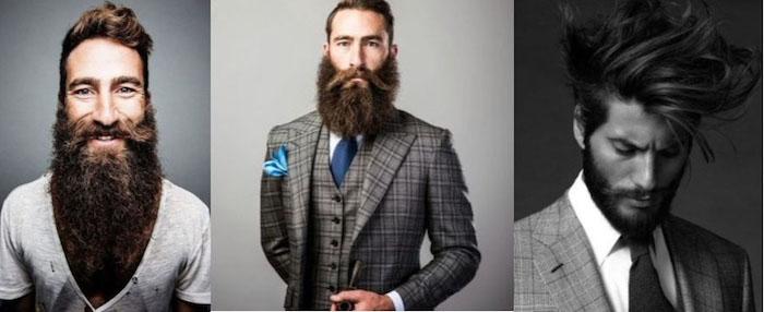 vollbart wachsen lassen hier drei ideen super lang mittellang und kurzer vollbart style für männer ideen