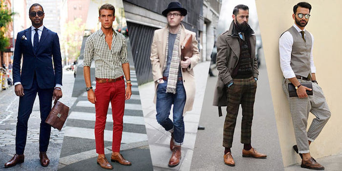 blauer anzug schwarze schuhe ideen für den modernen mann rote hose jeans blauer anzug braune schuhe stylen