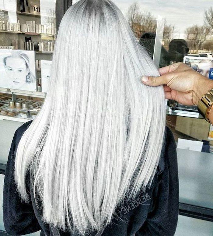 silberblond - wie diese Nuance von Blond zu erreichen in einigen Schritten