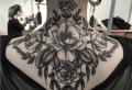 Tattoo Nacken – 60 tolle Ideen zum Stechen