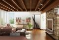 Steinwand Wohnzimmer – natürliche Gemütlichkeit zu Hause