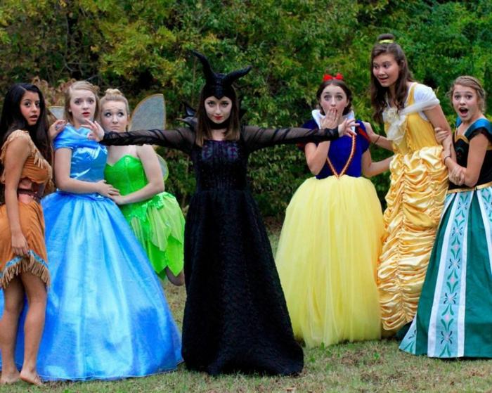 Diney Prinzessinnen Party, ein Anlass festliche Kleider anzuziehen - Mottoparty Themen