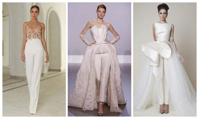 präzise overall damen mode ideen für die hochzeit hochzeitsfeier outfit ideen elegant spitze tüll und deko