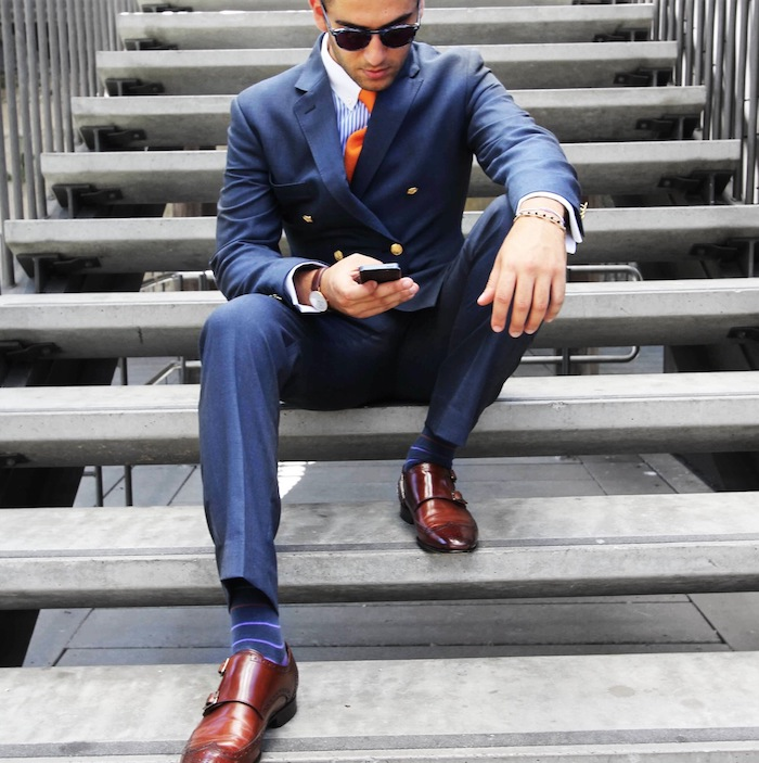 Blue Suit Brown Shoes And What Accessories Fit Heandshelifestyle Com