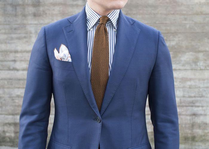 braune schuhe kombinieren mit diesem coolen look braune krawatte abgestimmt mit der farbe der schuhe