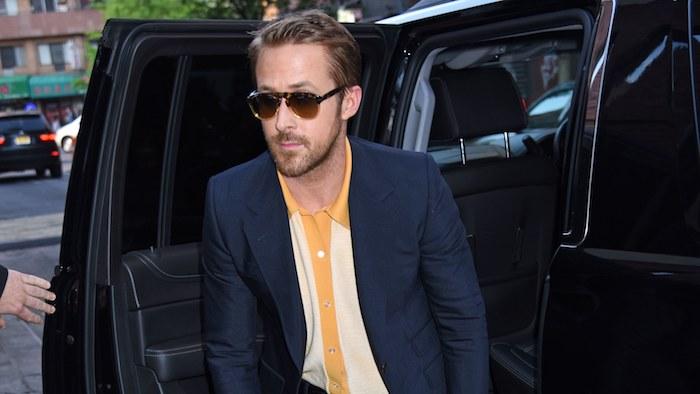 braune schuhe kombinieren ideen zum styling von ryan gosling mode fashion guru von hollywood