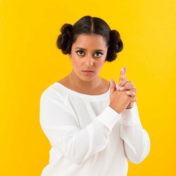 Kostüm aus dem Film Star Wars - einfache Karnavalkostüme für Frauen