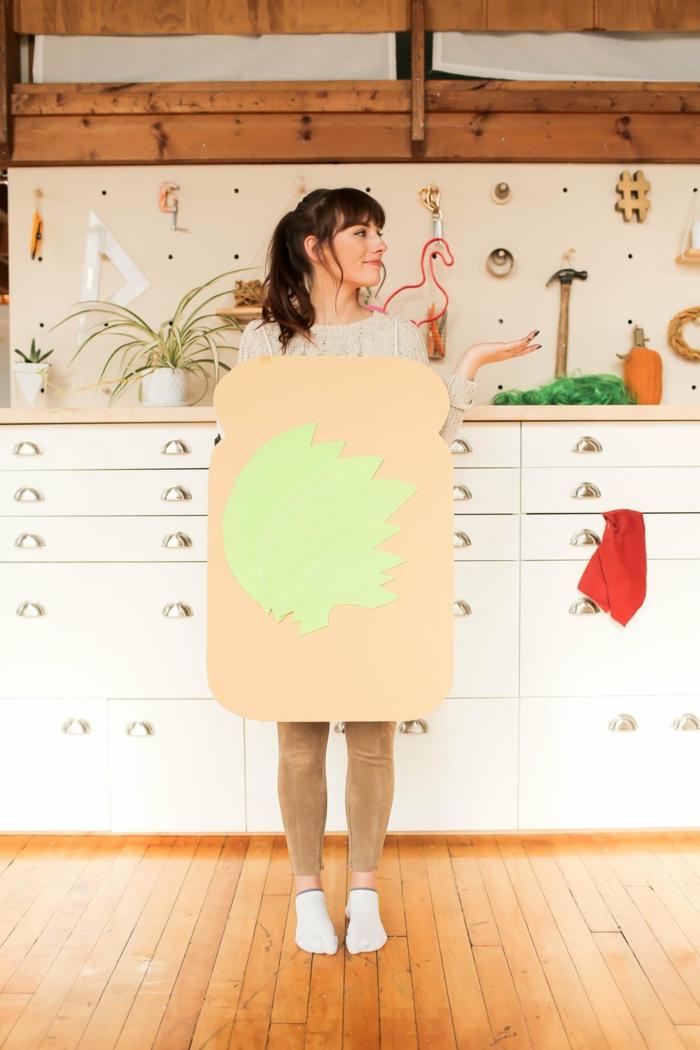 ein Brötchen Kostüm - einfache Karnevalkostüme, die sehr originell sind