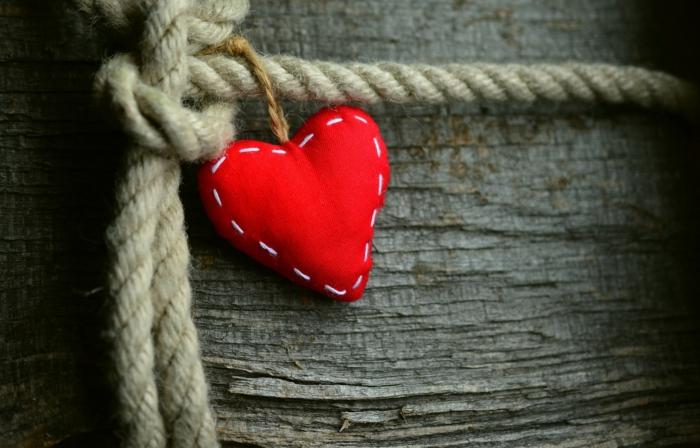 eine Valentinstag Dekoration, die zum Selbermachen ist - Bilder Romantik