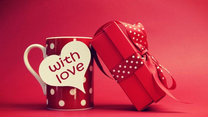 womit überraschen Sie Ihre Lieblinge, Valentinstagsgrüße,ein Kaffeebecher mit Liebe,