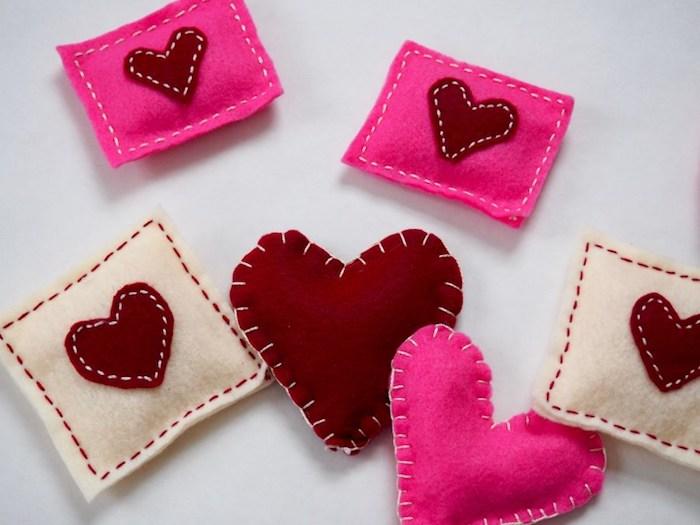 valentinstag feiern und sich einander mit partner kleine geschenke machen diy geschenkideen