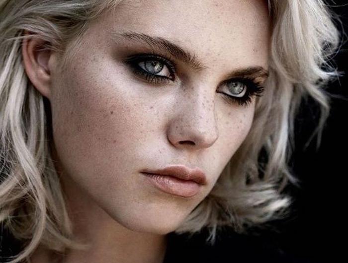 Und blaue blonde haare augen seronarna: Blond