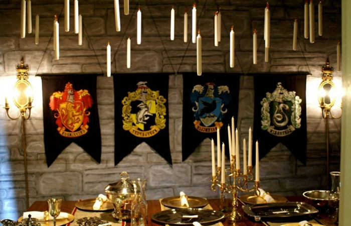 Karneval Motto - fühlen Sie sich, als ob in Harry Potter Schloss wären