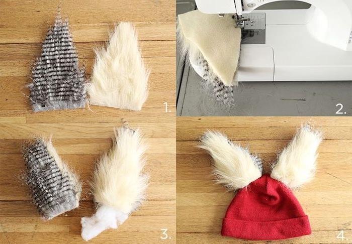 Mütze mit Federn selber machen, Schritt-für-Schritt-Anleitung, einfaches Kostüm für Fasching