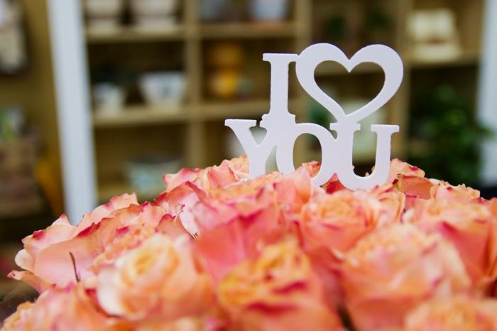 Zeigen Sie immer Ihre Liebe mit Blumen - Hintergrundbilder Liebe