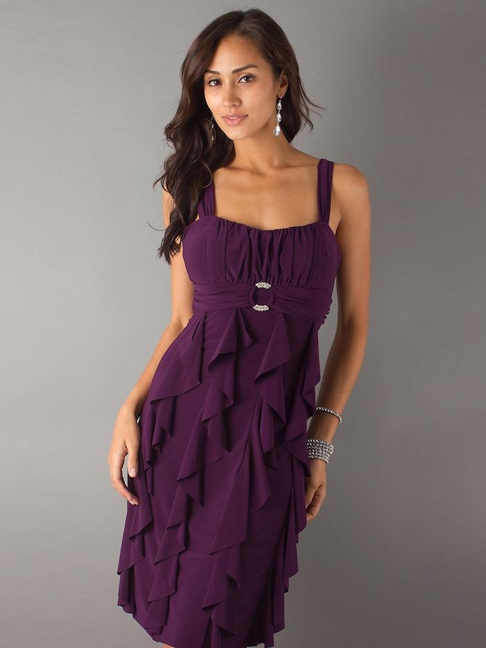 Kleider fur hochzeit lila