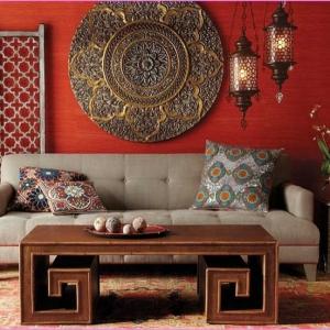 Orientalische Sitzecke - tauchen Sie in die Mystik des Orients ein