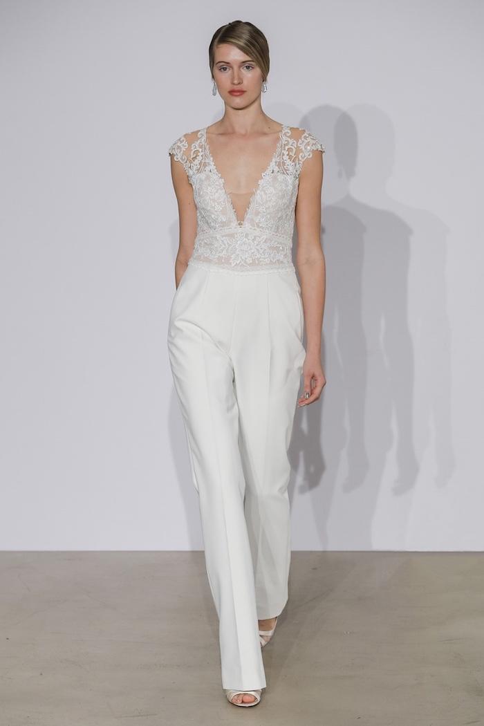 jumpsuit elegant ideen für die braute brautmode zum faszinieren ideen zum gestalten damenmode braut weiße bekleidung