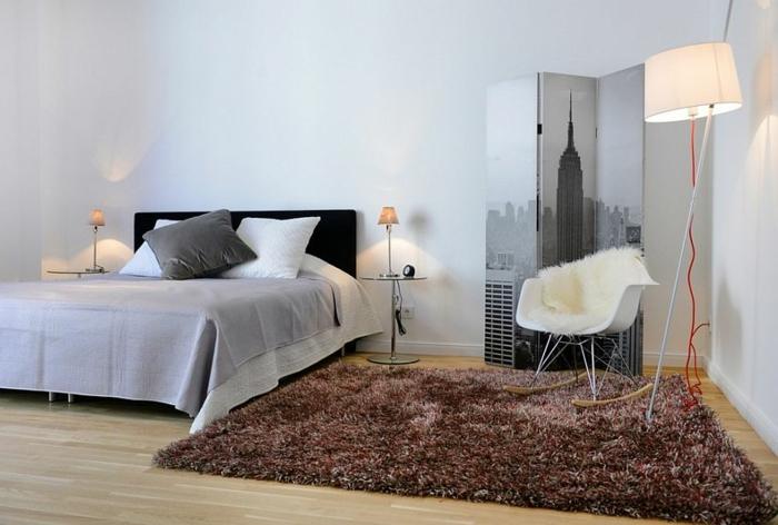 1001 ideen f r skandinavische schlafzimmer einrichtung for Spanische einrichtung