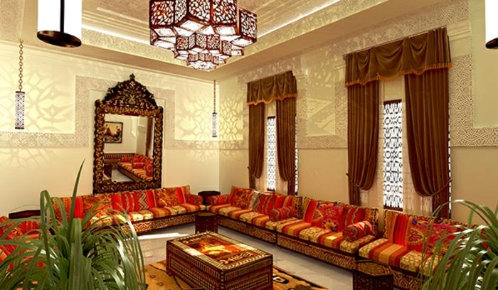 1001 einrichtungs und gestaltungsideen f r orientalische sitzecke. Black Bedroom Furniture Sets. Home Design Ideas