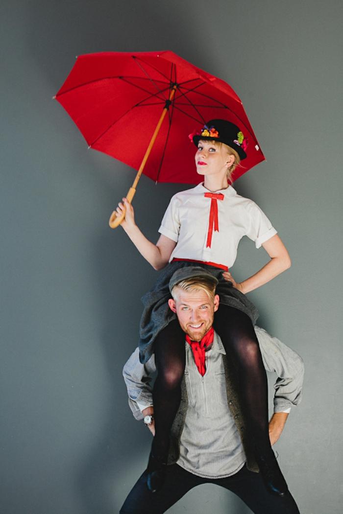 Merry Poppins Kostüm und der Stornsteinsteiger - Last Minute Kostüme