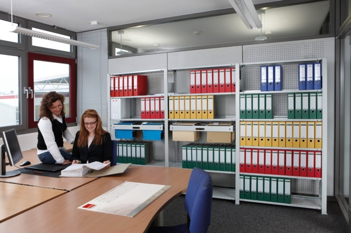 Safe and practical storage shelves for a successful company
