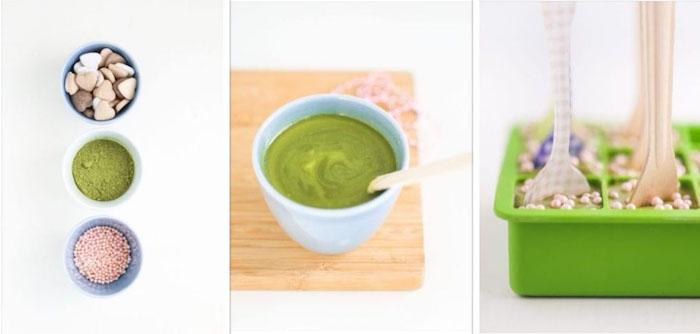 valentinstag geschenke selber machen matcha praline gesund lecker und süß gesunde rezepte für nachtische
