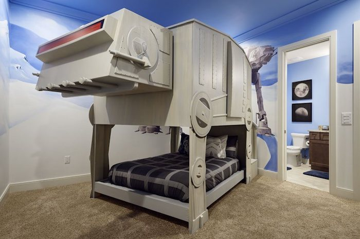 star wars kinderzimmer gestalten tipps und einzigartige. Black Bedroom Furniture Sets. Home Design Ideas