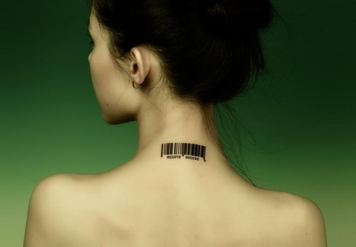 Tattoos für frauen nacken
