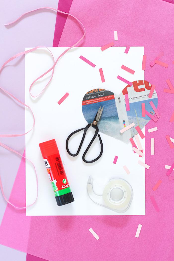 valentinstag karte oder pinata oder einen kasten selber machen coole und kreative ideen selber machen
