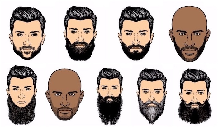 Barttyp nach Gesichtsform und Haarstruktur auswählen, welcher Bart passt zu dir