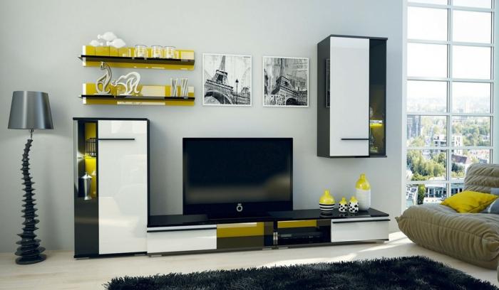 Wohnwand bauen cool wohnwand selber bauen paletten - Wohnwand aus paletten ...