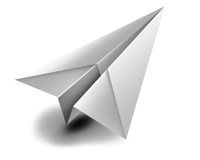 basteln mit papier, einen großen weißen papierflieger falten a4, bester papierflieger der welt