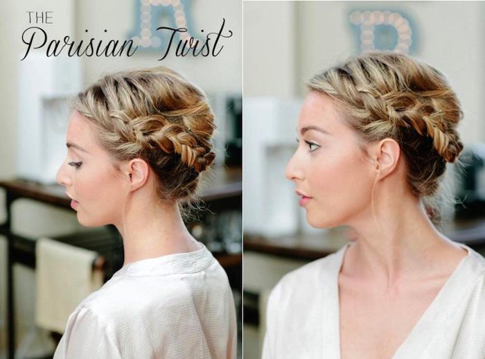 flechtfrisuren lange haare, haare hochstecken flechtfrisur selber machen, haare flechten