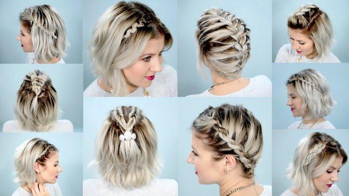 Außergewöhnliche Frisuren Für Kurze Haare Zum Selber Machen Vp17
