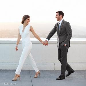 Jumpsuit Hochzeit: 80 trendy Ideen für kreative Bräute