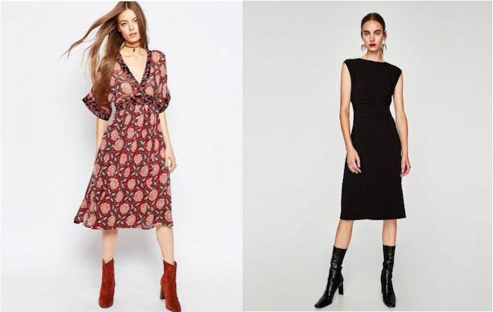 herbst outfit kleider für hochzeit im herbst oder winter elegant stilvoll und trendy damen mode