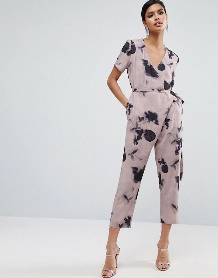 jumpsuit festlich für hochzeitsgast kleid oder overall einteiler einfach zum stylen