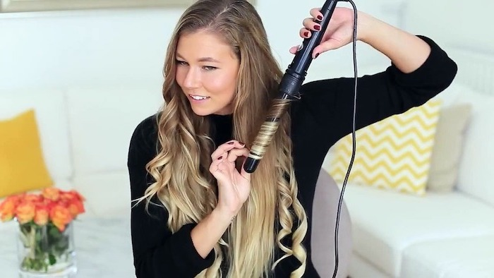 1001 Ideen Für Locken Mit Lockenstab Frisuren Zu Besonderen