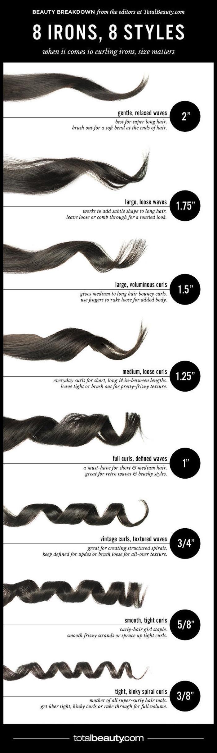 ideen und weisen was für locken sie in den haaren machen können, kurze haare locken, lange haare lockig gestalten