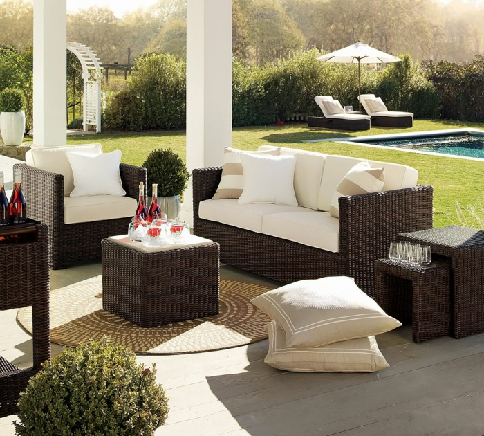 1001 ideen f r eine moderne terrasse und zehn letzte trends. Black Bedroom Furniture Sets. Home Design Ideas