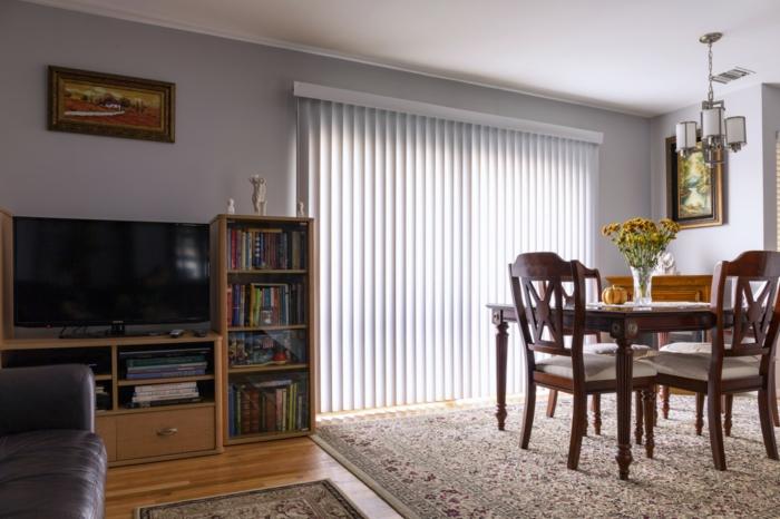 ein Einzimmerwohnung mit Wohnküche, Wohnwand selber zusammenstellen aus Ikea