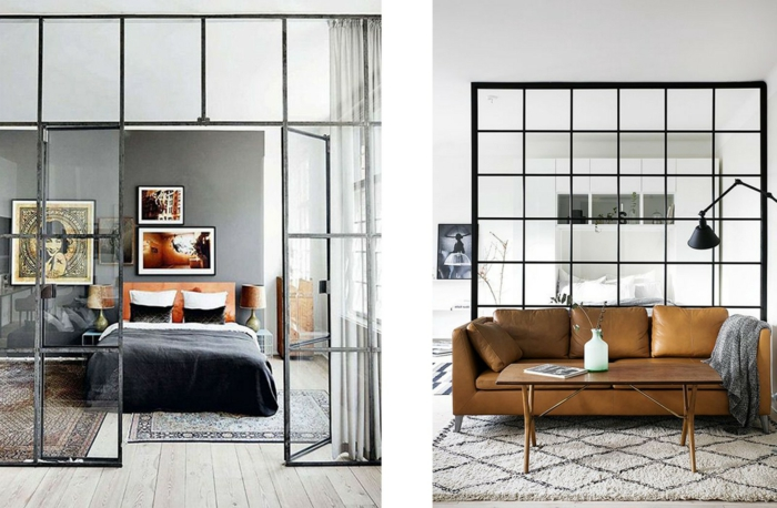 1001 raumteiler ideen f r offene bauweise zum inspirieren. Black Bedroom Furniture Sets. Home Design Ideas