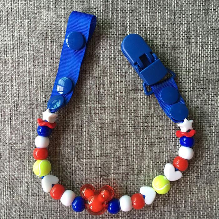 schnullerketten zubehör, bunte sylikonperlen in verschiedenen formen und farben